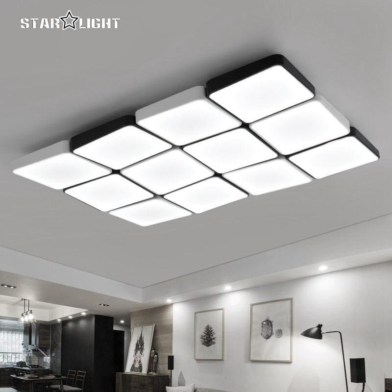 Moderne LED Kronleuchter Einfachen Stil Smart Home Beleuchtung Grosse Kunst Kreative Schlafzimmer Wohnzimmer Lampe