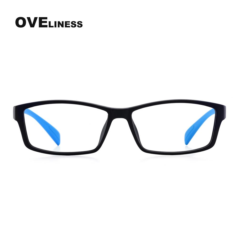 TR90 Eynək çərçivələri Qadın kişilər Optik Clear Lens Oxuyan - Geyim aksesuarları - Fotoqrafiya 3