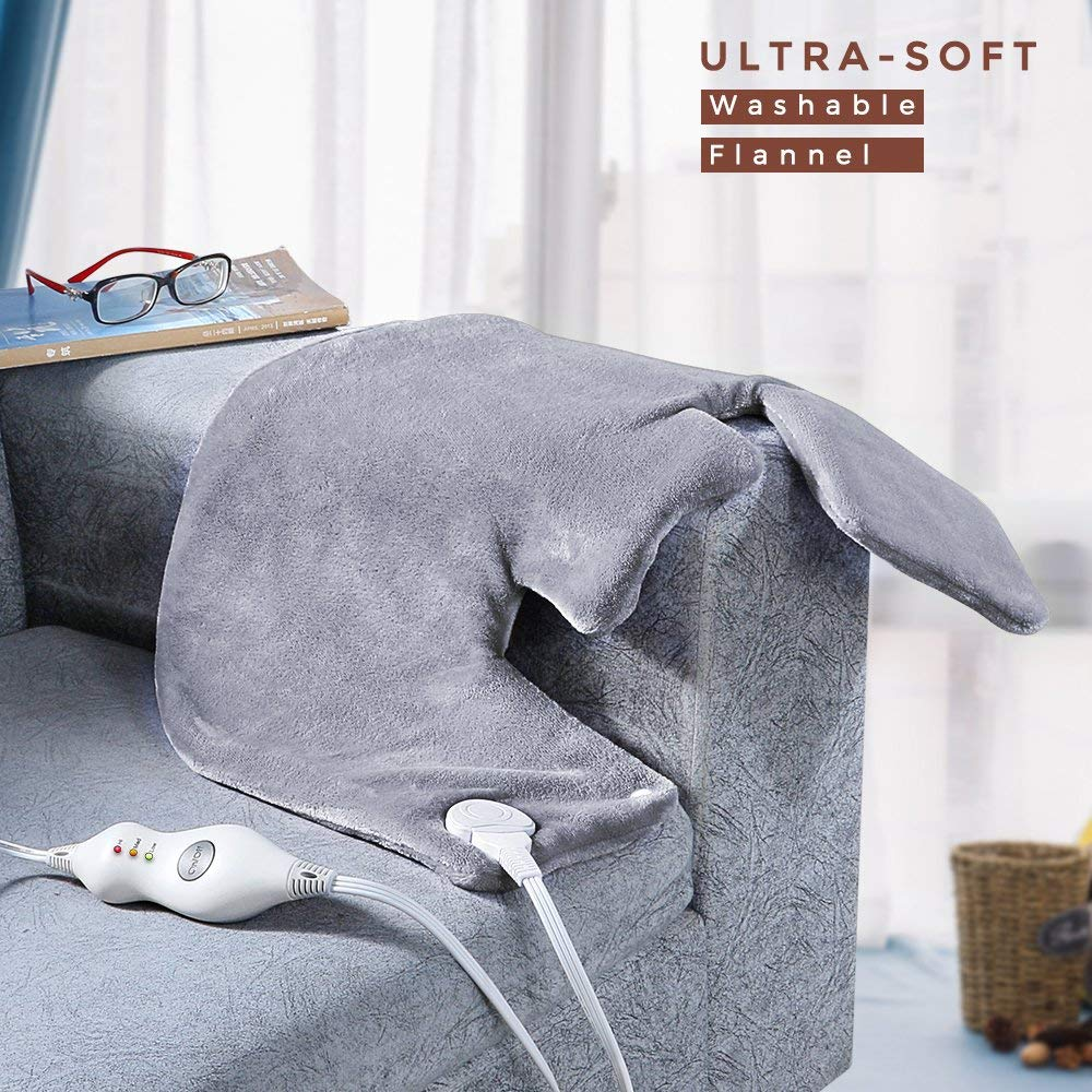 Electric Heating Pad Gift Set of 2 - Large Size 18