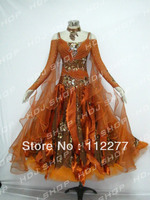 luxury new fashion ballroom competition dance dress girls HM8648