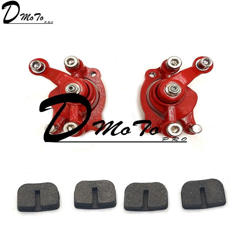 QSP Front Brake Discs Set for VW Polo 2001 to 2016