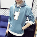 2017 New arrival top quality cotton  hooded casual brand men hoodies luxury male autumn winter fashion sweatshirts 3XL