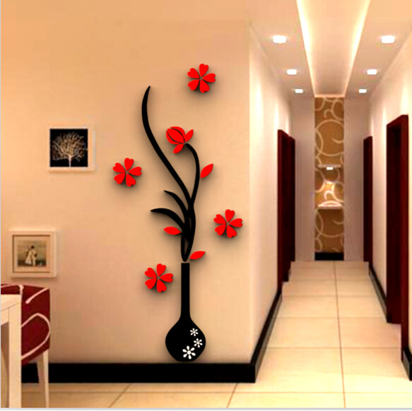 Decor Home 3d Wall Sticker Three Dimensional Wall Stickers Tv