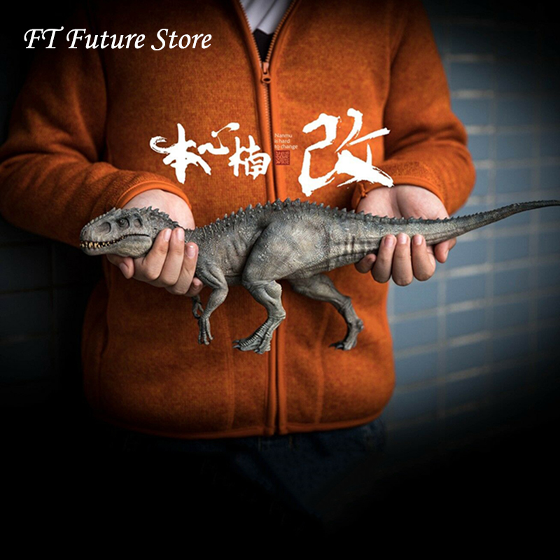 1/35 scale collectible pvc 동물 그림 gwangi allosaurus 공룡 모델 완구 팬 소년 어린이 선물-에서액션 & 장난감 숫자부터 완구 & 취미 의  그룹 1