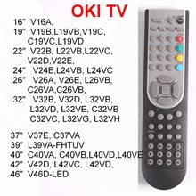 "RC1900 Remote control for OKI TV 16, 19, 22, 24, 26, 32 inch,37,40,46"",V19,L19,C19,V22,L22,V24,L24,V26,L26,C26,V32,L32,C32 V37(China)"