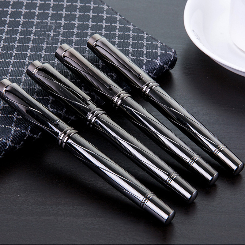 Full Metal Iraurita penna stilografica 0.5mm penne a inchiostro per la scrittura caneta tinteiro Cancelleria dolma kalem di Alta Qualità 1049