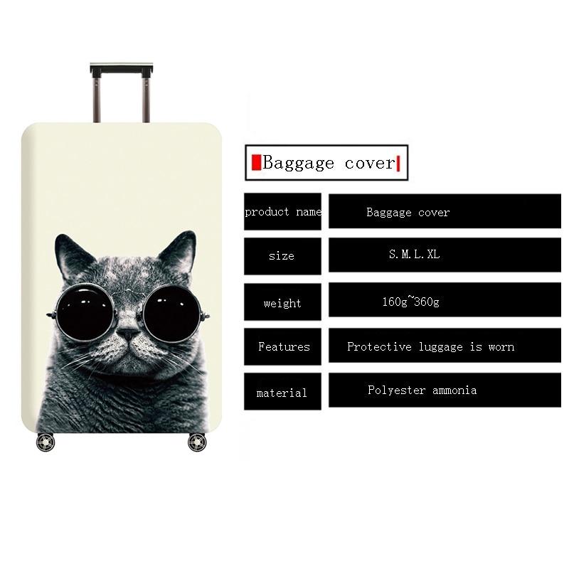 TLDGAGAS-Copertura-Bagaglio-di-Viaggio-Valigia-Protector-Vestito-Per-18-32-Formato-Simpatico-gatto-Modello-Trolley