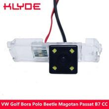 KLYDE HD Car Rear View Reversa Estacionamento Backup Câmera Para VW VI Golf Bora Polo Beetle Magotan Passat CC B7 Scirocco/Skoda Superb