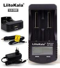 Зарядное устройство liitokala lii300 с ЖК дисплеем 37 в 18650