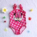 Niñas Trajes de Baño trajes de baño para niños de ballet niñas de una pieza del traje de baño trajes borla meisje niños mickey traje de baño para niños 3-8