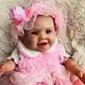 Boutique muñecas reborn 50cm bebe s reborn corpo de silicona inteiro realista chica princesa muñeca juguetes de regalo