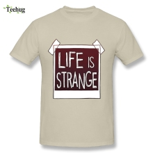 Casual Men's Life Is Strange T Shirt Simple Design For Male Plus Size Leisure T-shirt plus size pockets design leopard t shirt