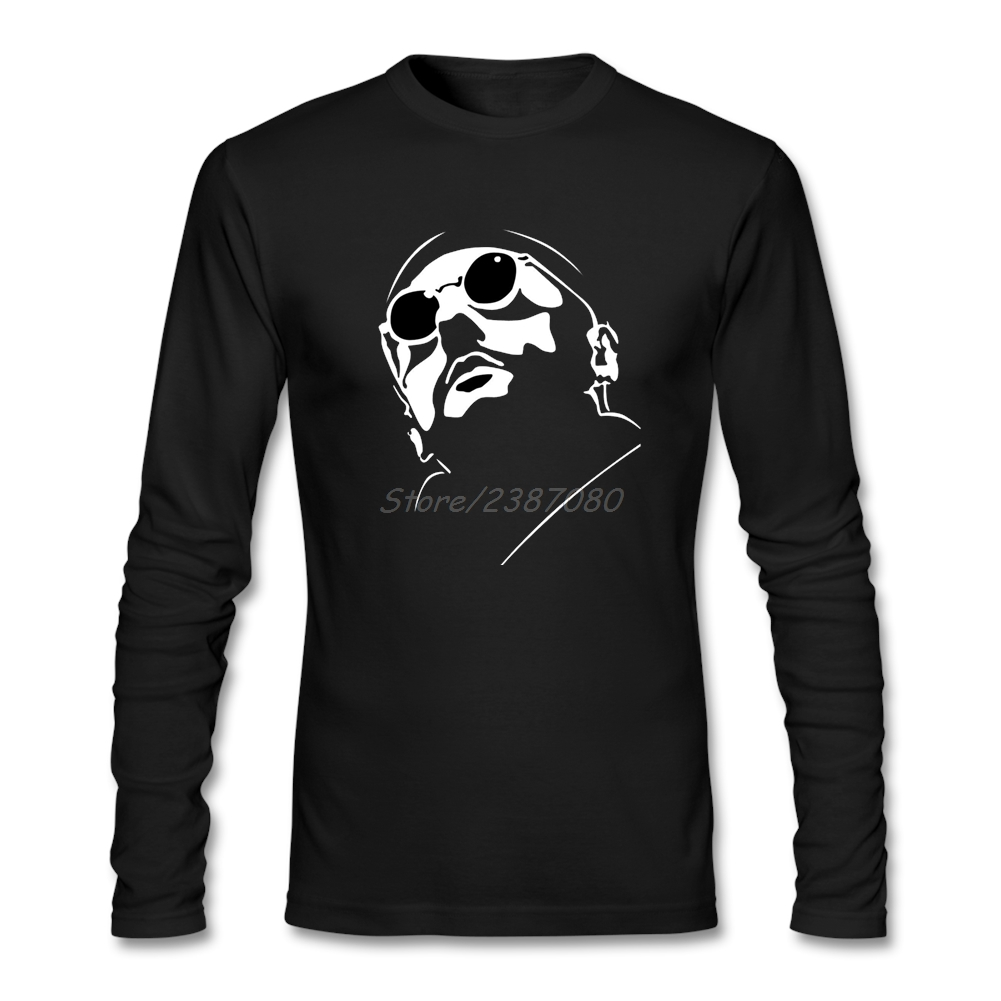 Summer Leon The Professional T Shirt Atmosphere Men's Clothes Cotton Crewneck Long Sleeve  Mens T Shirts