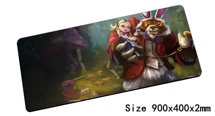 Annie коврик для мыши 900x400x2 мм коврик для мыши LOL Notbook коврик для компьютерной мышки Темный детский игровой padmouse геймер клавиатура мышь коврики