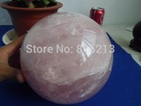 ddh001028 Natural Rose Quartz Crystal Sphere Ball Love Healing China