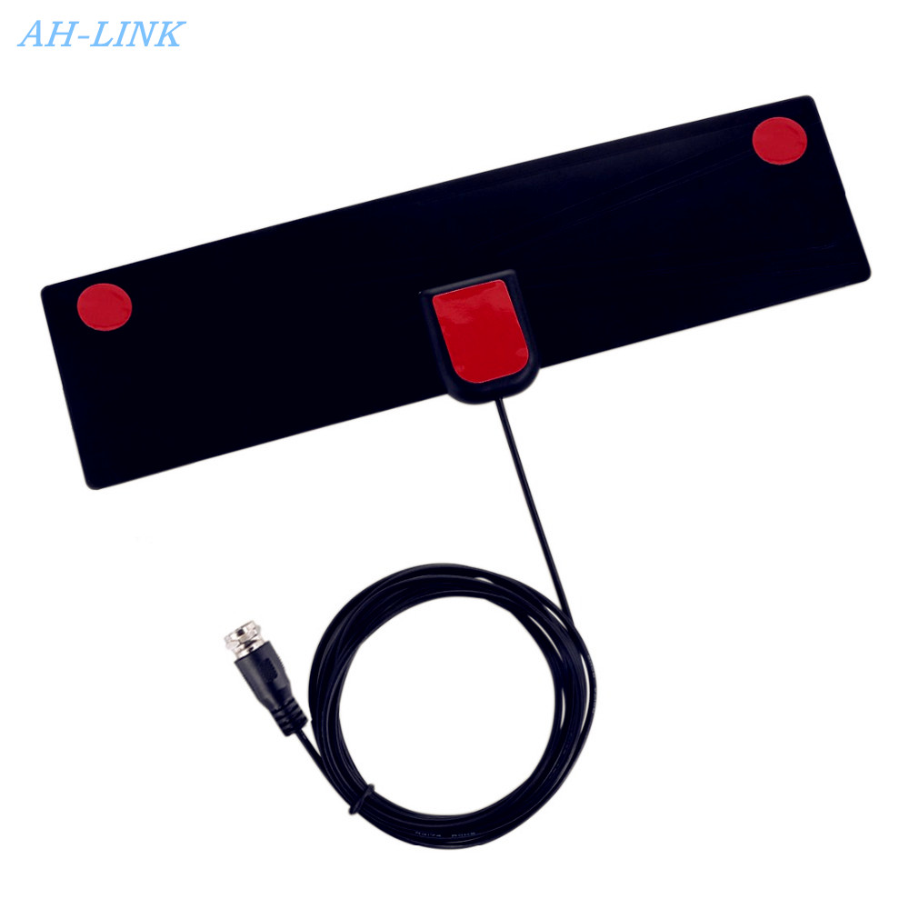 AH-LINK Indoor TV Antenna Digital HDTV Aerial Amplified Booster Cable VHF UHF Freeview 4K High Gain Digital TV Antenna receiver