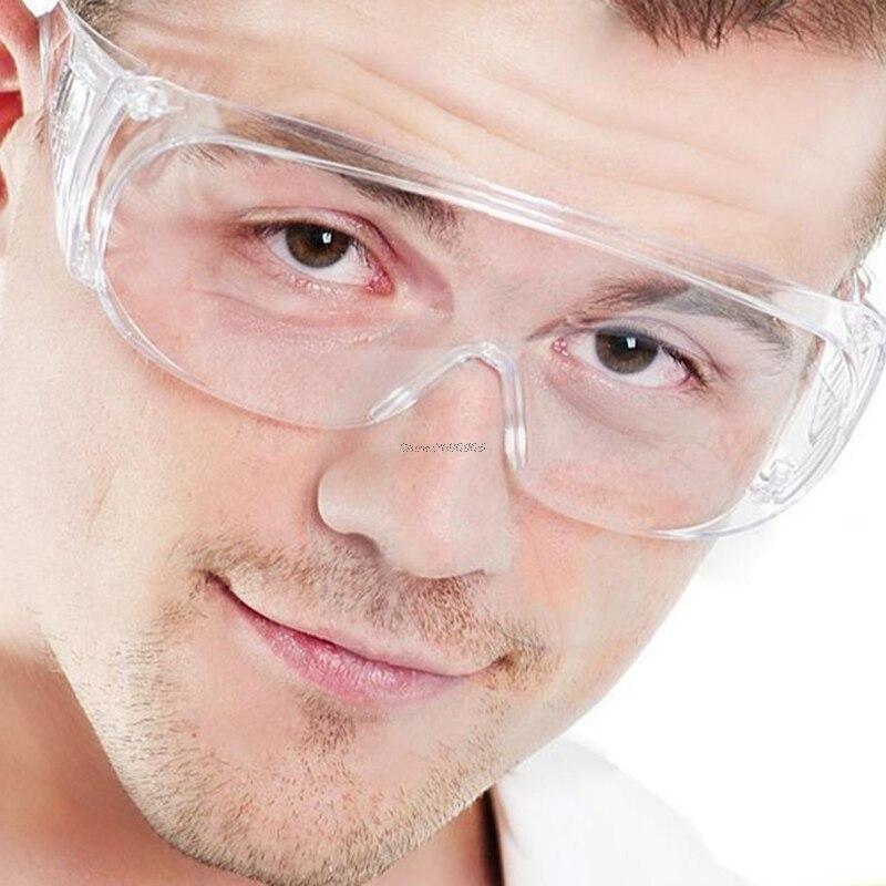 Ясно, вентилируемый Защитные очки Защита глаз Защитные Лаборатория незапотевающий Очки