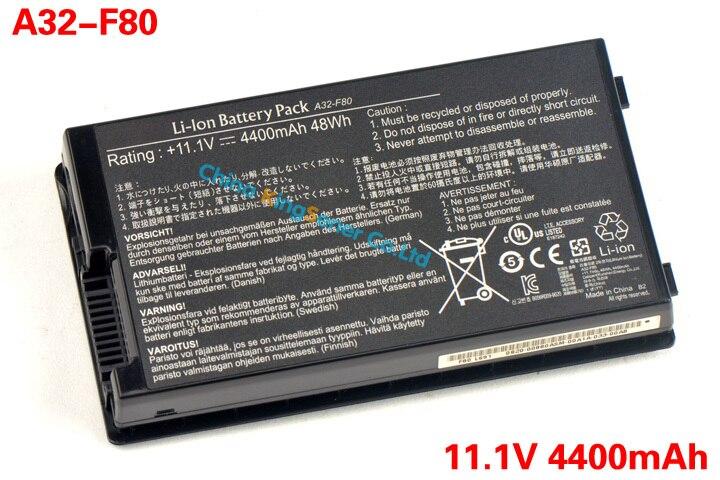 Prix pour 48WH Batterie D'ordinateur Portable D'origine pour ASUS A32-F80 F80 F80s F80Cr F81 F81E F81Se F83 F83Cr F83E F83S F83Se F83V F83VD F83VF K41 6 CELLULAIRE