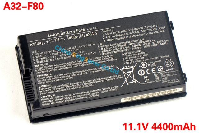48WH batería Original del ordenador portátil para ASUS A32-F80 F80 F80s F80Cr F81 F81E F81Se F83 F83Cr F83E F83S F83Se F83V F83VD F83VF K41 celdas