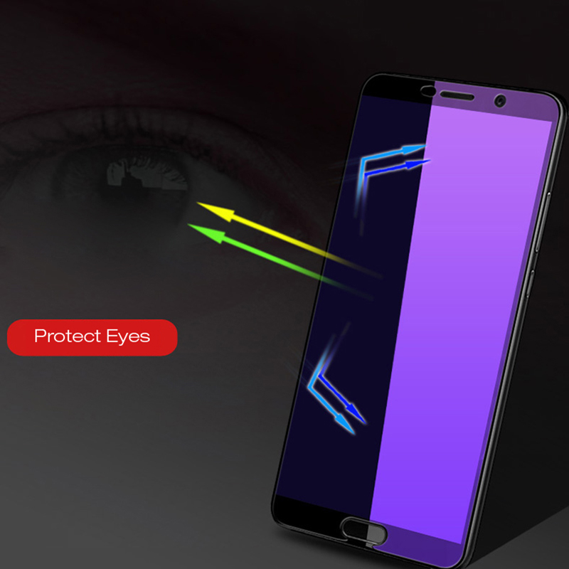 Suntaiho 2Pack/lot For Huawei Mate 8 2.5D Tempered Glass Anti Blue Light Screen Protector For Huawei Mate 10/ Mate 9 Glass Film