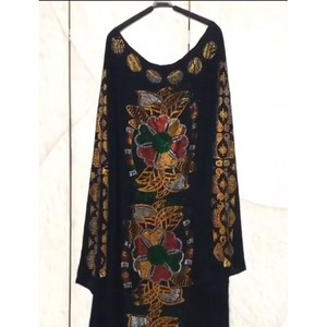 Image 3 - Afrikaanse Jurken Voor Vrouwen 2019 Herfst Dashiki Diamanten Afrikaanse Kleding Bazin Broder Riche Sexy Slim Robe Avond Lange Jurk