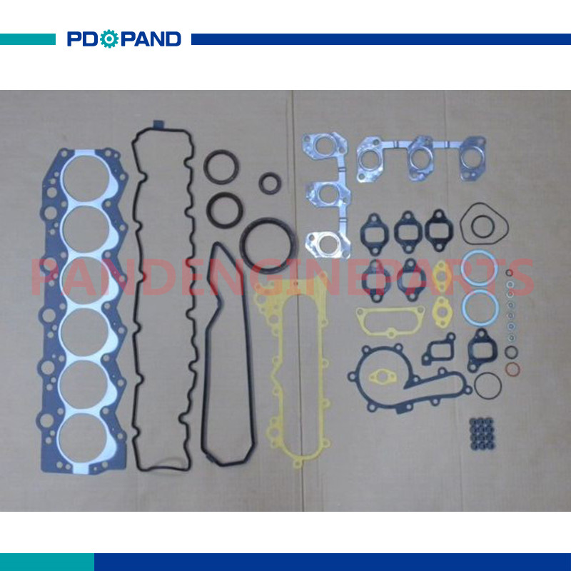 US $62 64 15% OFF|12V 1HD 1HDT 1HD T Engine Rebuild Full Gasket Set 04111  17020 for Toyota Land Cruiser/Coaster 4200cc 4 2L Oil Valve Seals-in Engine