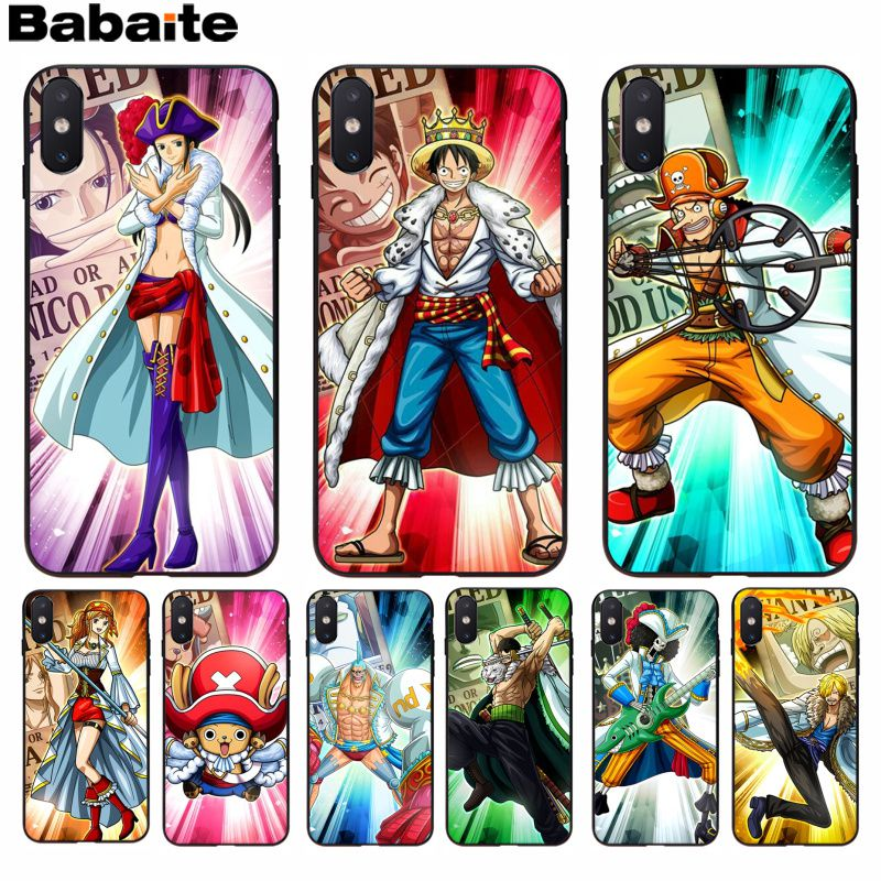Constructive Babaite One Piece Robin Novelty Fundas Phone Case Cover For Iphone 8 7 6 6s Plus 5 5s Se Xr X Xs Max Coque Shell 2019 New Fashion Style Online Half-wrapped Case