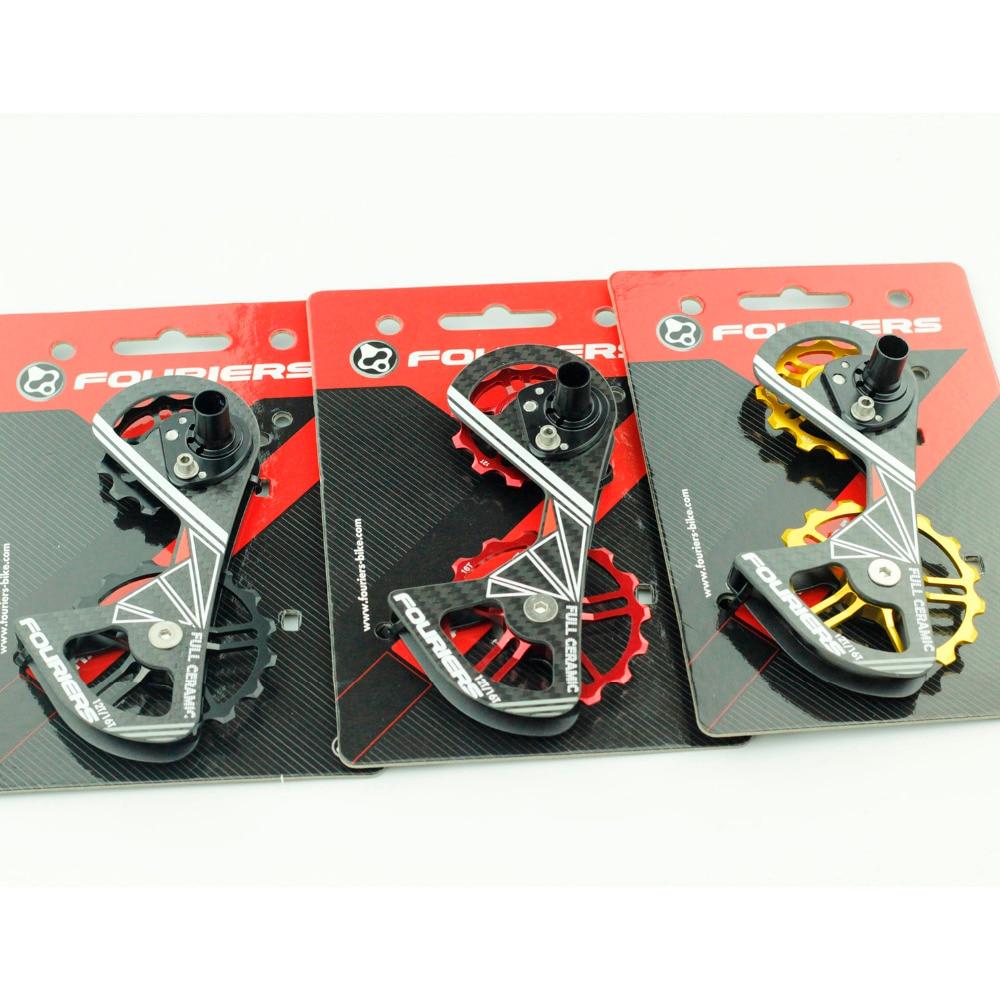 Fouriers Rennrad Schaltwerk Carbon Cage Vollkeramiklager - Radfahren - Foto 2