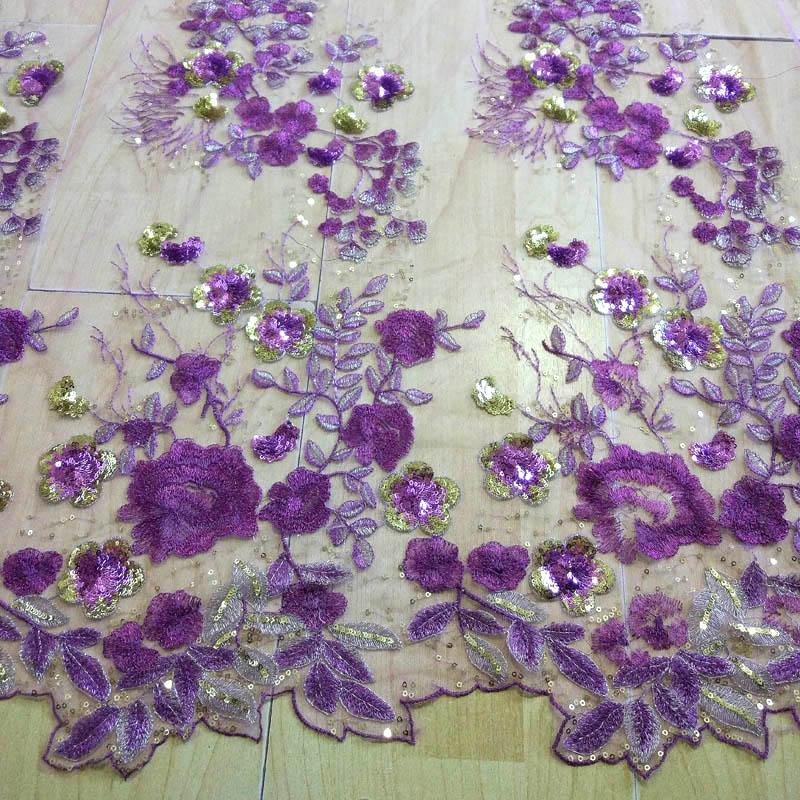 Hot Cover filc organza cvet afriška tkanina, vezenje tkanine - Umetnost, obrt in šivanje - Fotografija 5