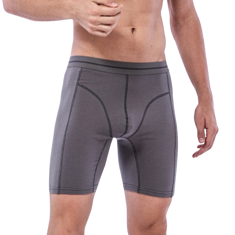 6 Pcs/lot Hot Sell Fashion Shorts Mens Winter Underwear Boxers Cotton Boxer Male Long Boxer Shorts Mens Plus Size Underpant Fat