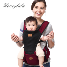 Honeylulu Summer Breathable Baby Carrier 140CM Belt With Storage Bag Sling For Newborns Ergoryukzak Kangaroo Hipsit