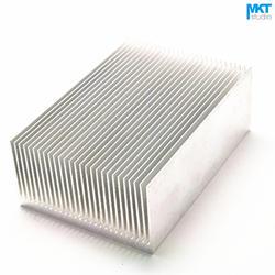 5 Шт. 100 мм х 69 мм х 36 мм Чистый Алюминий Охлаждения Fin Радиатора Теплоотвод
