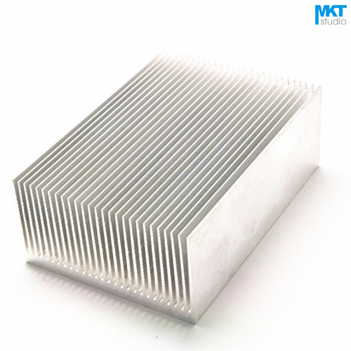 5Pcs 100mmx69mmx36mm Pure Aluminum Cooling Fin Radiator Heat Sink