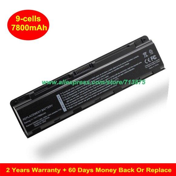 PA5024U-1BRS Laptop Battery For TOSHIBA C805 C850 M800 M805 P800 Satelite L850 C800 C840 C870 L830 L835 L840 L845 L855