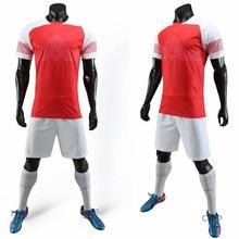 18/19 blank men's football T-shirt children's sports club jersey short-sleeved shorts custom football training clothes