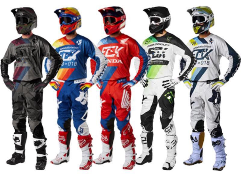 2018 off-road motorcycle racing suit rappelling riding suit off-road suit 360 series training suits four seasons