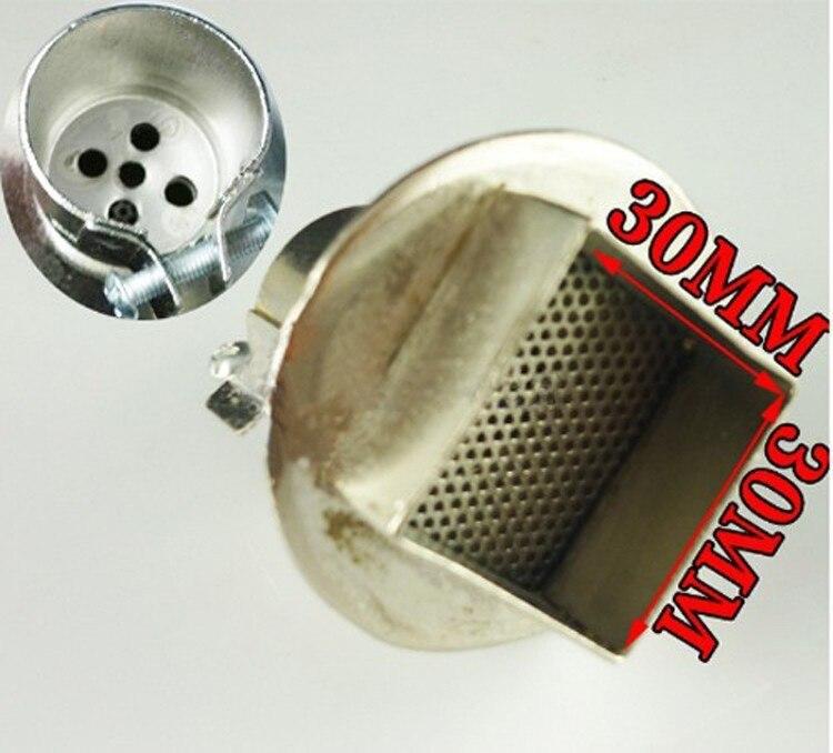 free shipping BGA Nozzle30mm*30mm diameter BGA Hot Air Nozzle for 850 Series Hot Air Gun