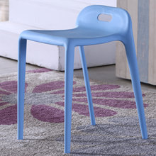 The pony chair.. Plastic stool. Stool can be stacked in shoes(China)