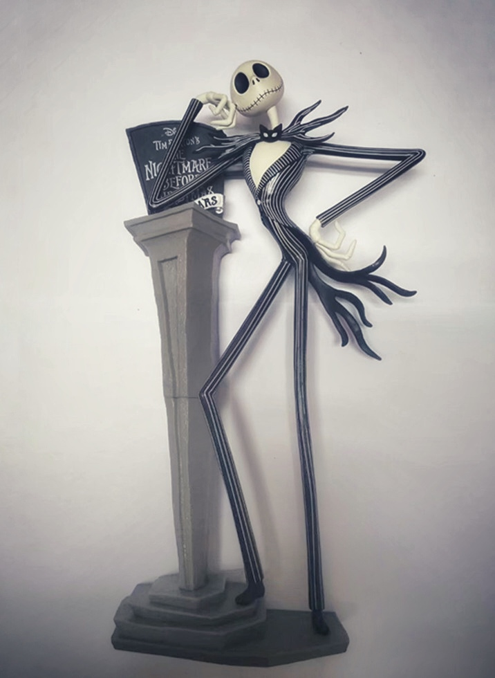 Image 2 - The Nightmare Before Christmas Jack Skellington 25th Years Model Figure Toys-in Action & Toy Figures from Toys & Hobbies