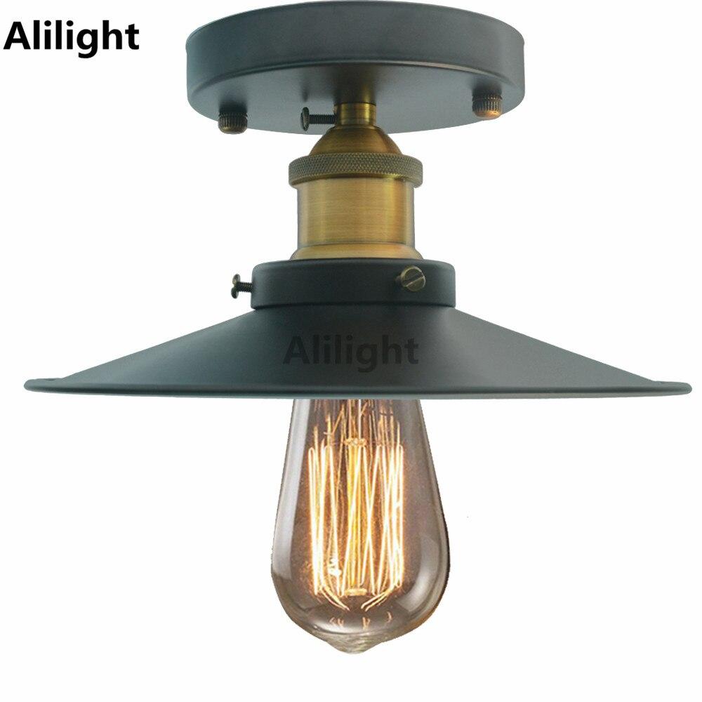 Loft Vintage Ceiling Lights Retro Living Room Bedroom Restaurant Indoor Lighting Incandescent Bulb Hanging Light Decor