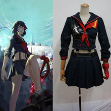 Убийство ла убийство героиня Matoi Ryuuko единая сделано косплей костюм MZ аниме платье юбка бесплатная доставка новый