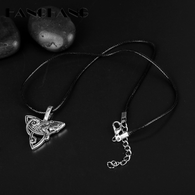 Collier loup Fenrir et Design Celtic 3