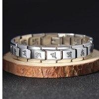 Браслет мужские браслеты 925 серебряный браслет см 21 мм см 15 мм ширина