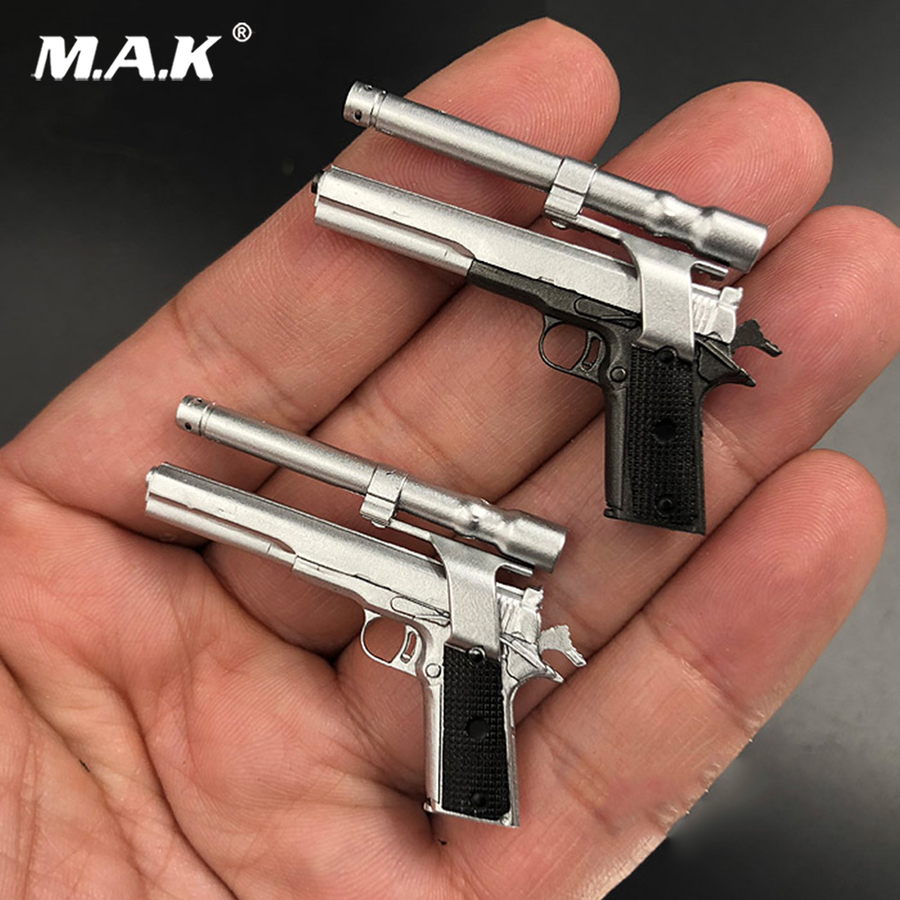 Soldier Weapon Model 1/6 ZY2009A M1911 1/6 Scale Pistol Model Handgun Weapon Model Toy Gifts image