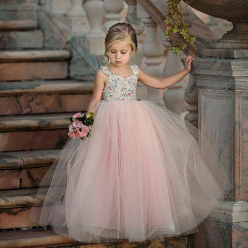 470f1e85044 Платье для девочек элегантное платье принцессы вечерние От 5 до 14 ...