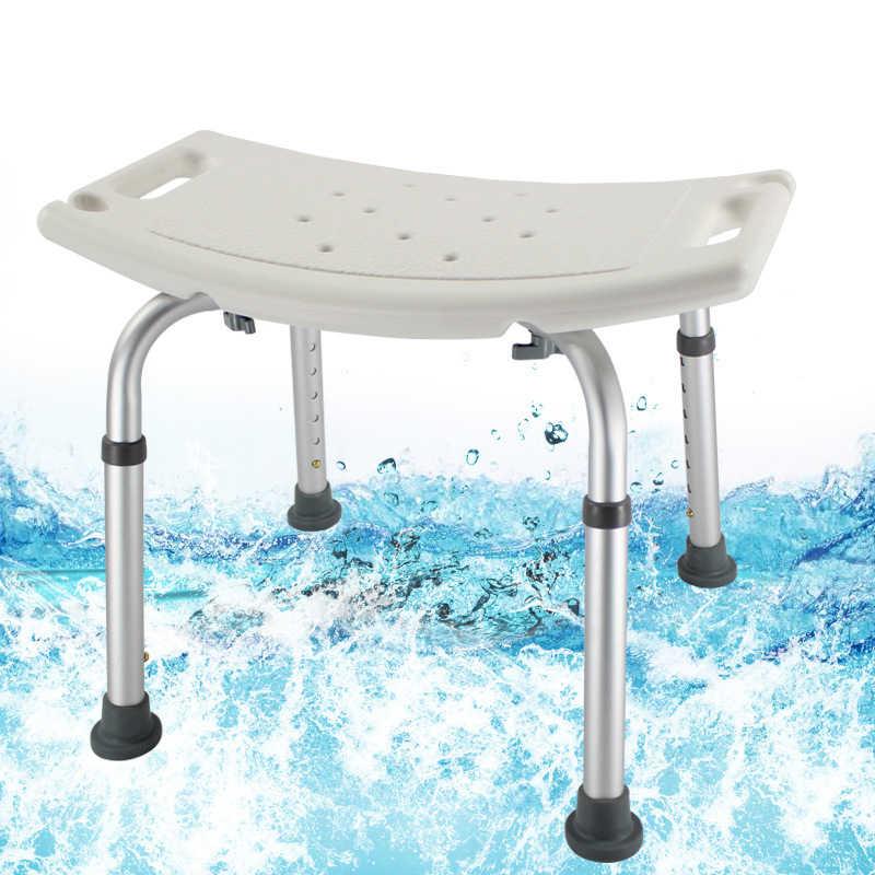Anti Kayma tuvalet sandalyesi Hamile Kadınlar Plaj Uygun Yaşlı Banyo duş oturağı Kol Dayama Arkalığı Ev Mobilya Banyo Sandalye