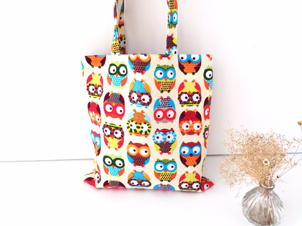 Heavy Duty Canvas Tote Bag Handmade Pure Cotton Canvas Shopping School Books Trip Bag Shoulder Bag Shopping Bags