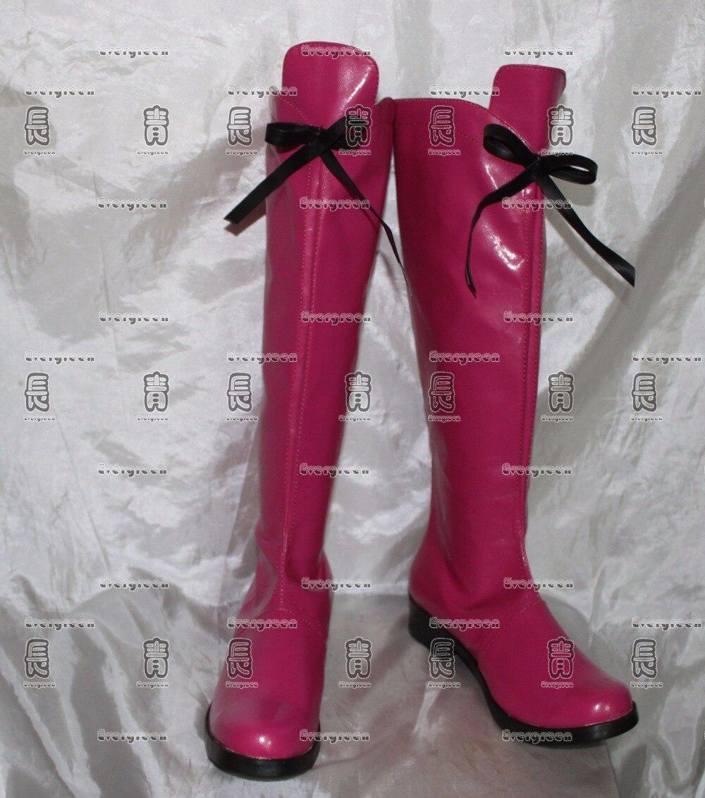 Tokyo Mew Mew Zoey Hanson Ichigo Momomiya cosplay Shoes Boots Custom Made 400