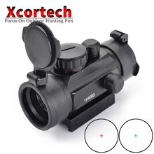 xcortech Hunting Holographic 1x40 Red Green Dot Sight Airsoft Dot Sight Scope 11mm