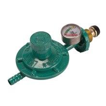 Бытовой бутилированный регулятор сжиженного нефтяного газа ударопрочный кислородный регулятор давления Манометр для цилиндров газовая горелка запасные части